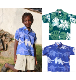 Global Mamas Boys-Button Down Shirt