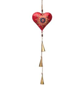 Matr Boomie Henna Treasure Heart Bell