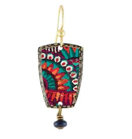 Earth Dreams Aztec Sun Earrings