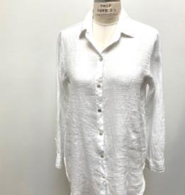 Cut Loose Hanky Linen A-Line Shirt