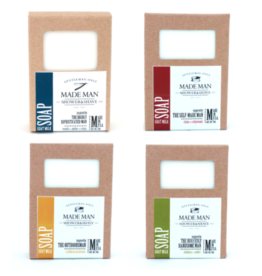 Twisted Tomboy FOR MEN | Handcrafted 'Manly' Soap Bars (4 Scents)
