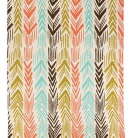 Peking Handicraft Feather Ikat Kitchen Towel