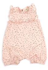 Viverano Organics Pebble Sleeveless Ruffle Bably Girl Romper