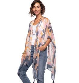 rockflowerpaper Rowan Navy Kimono Wrap