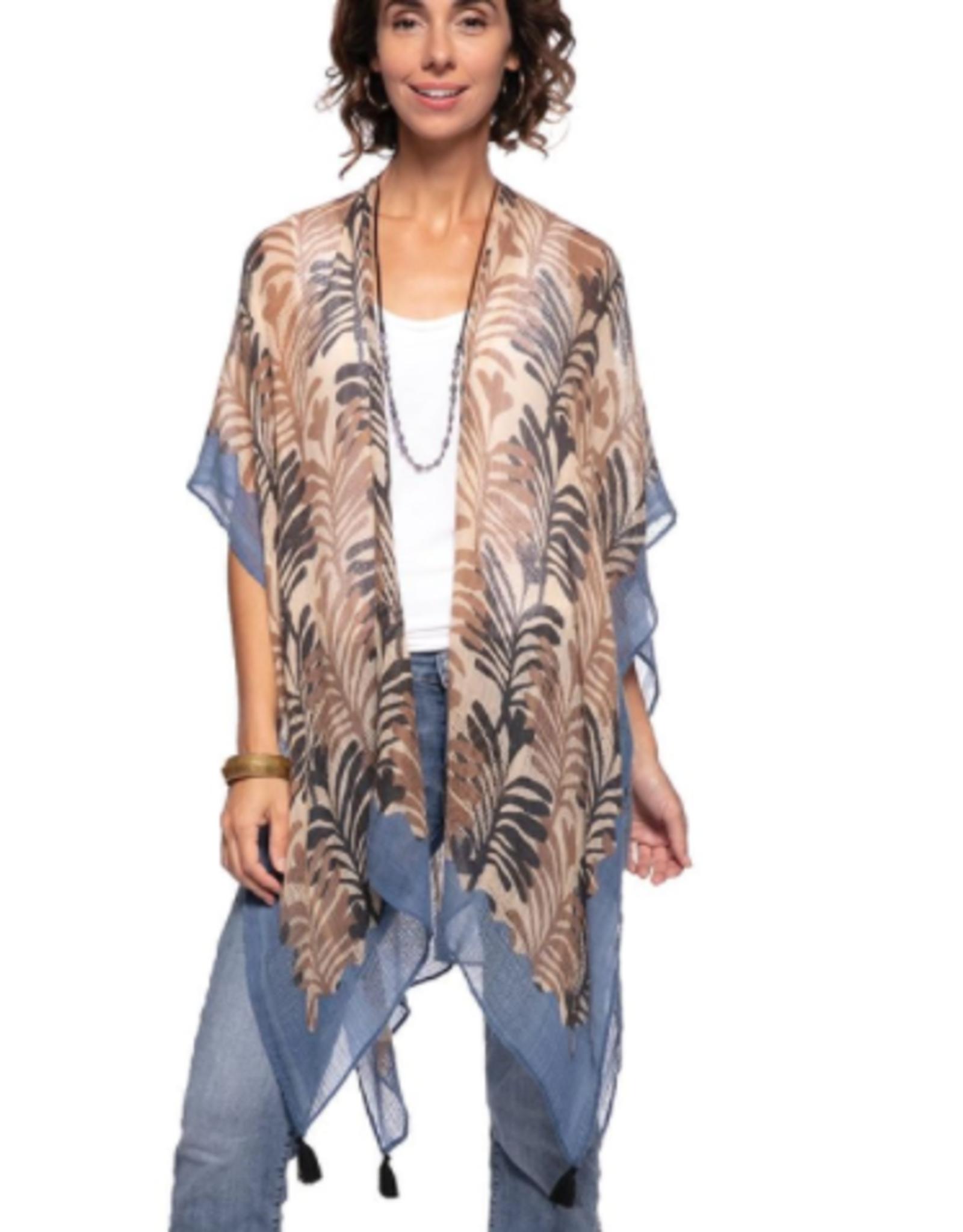 rockflowerpaper Georgia Tan Kimono Wrap