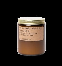 P.F. Candle Co. Sandalwood Rose Soy Candle - 7.2 oz