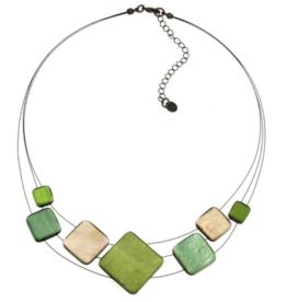 Origin Jewelry Origin 3 Strand Square Resin Necklace