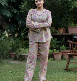 Handprint Florentine Silver Vanessa Pajama Set