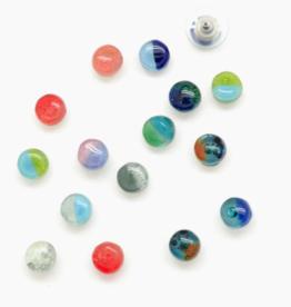 Dunitz & Company Dot Glass Studs