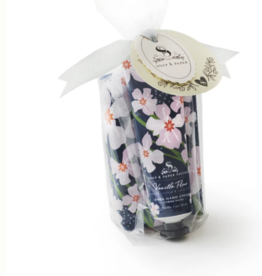 Soap & Paper Factory Vanilla Fleur Hand Creme & Soap Gift Set