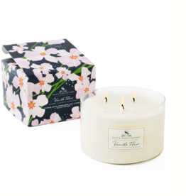 Soap & Paper Factory Vanilla Fleur Three-Wick Soy Candle
