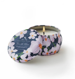 Soap & Paper Factory Vanilla Fleur 3 oz Tin Soy Candle