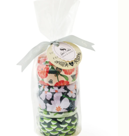 Soap & Paper Factory Small Tin Soy Candle Trio Gift Set