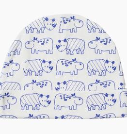 mirasa Organic Hippo+ Rhino Baby Beanie