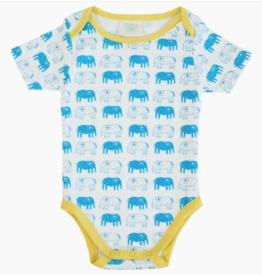 mirasa Organic Elephant Onesie 9-12 Months