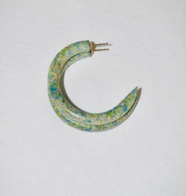 Binky & Lulu Valleys Tie Dye Small Hoop Earrings