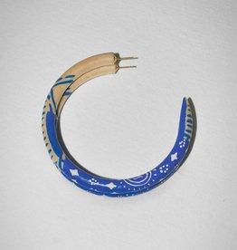 Binky & Lulu Willie Large Hoop Earrings