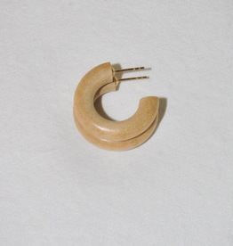 Binky & Lulu Driftwood Mini Hoop Earrings