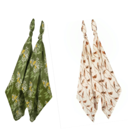 Milkbarn Bamboo Burp Cloth