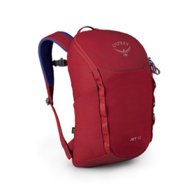 Osprey Jet 12 Youth Backpack- Cosmic Red