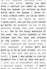 Cedar Mountain Typewriter Sign (Daughter)