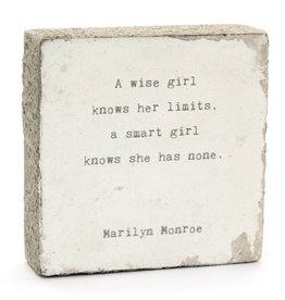 Cedar Mountain Art Block (A Wise Girl)