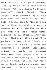 Cedar Mountain Typewriter Sign (Friendship)