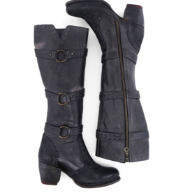 Bed Stu Decree Tall Black Boot