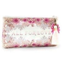 Papaya Art Small Tassel Pouch-All For Love