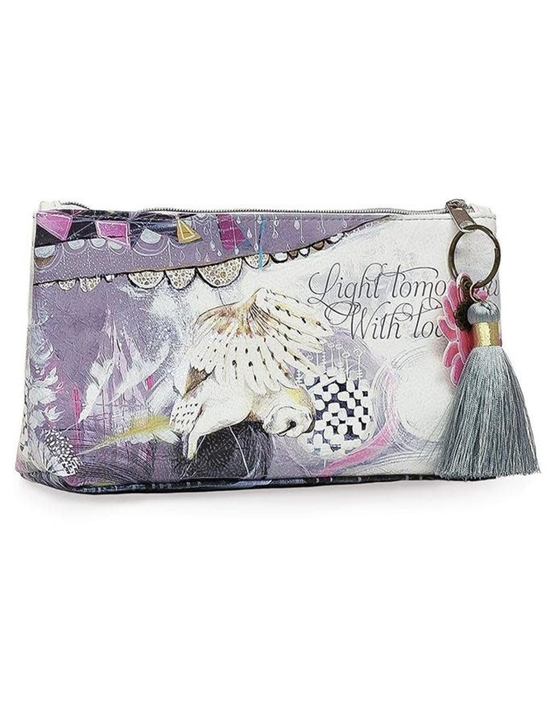 Papaya Art Small Tassel Pouch-Dreamcatcher