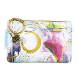 Papaya Art Coin Purses-Brushstrokes