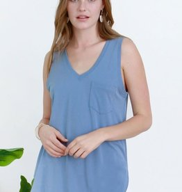 Another Love Esther V-Neck Tank