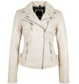 Mauritius Pasja Leather Jacket (White)