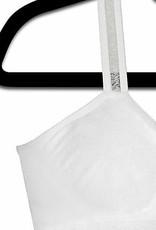 Strap-It White Bra/Sheer (One Size)
