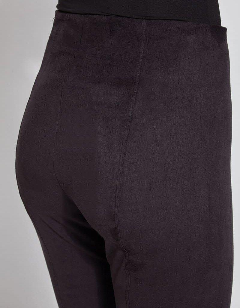 Lysse Hi Waist Suede Legging (Black)