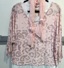 Catherine Lillywhites Leopard Print 2Pc Tunic (One Size)