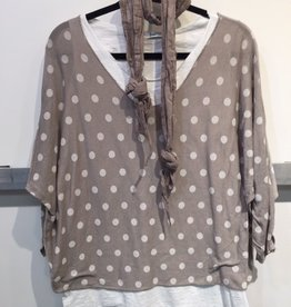 Catherine Lillywhites Polka Dot Print 2Pc Tunic (One Size)