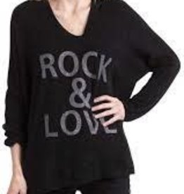 Gigi Moda Mohair Blend Rock & Love  (Black) (O/S)