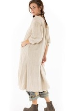 Magnolia Pearl Woven Cotton Bibby Dress (Little Shell) (O/S)