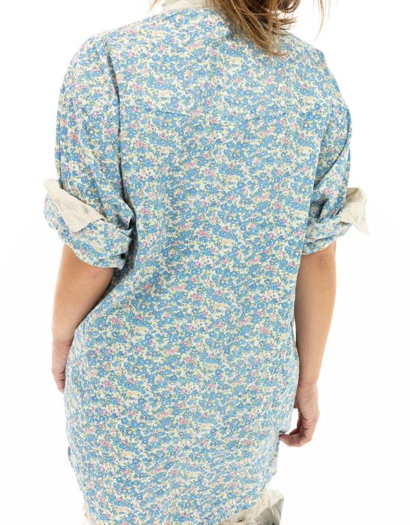Magnolia Pearl European Cotton Boyfriend Shirt (Texas) O/S