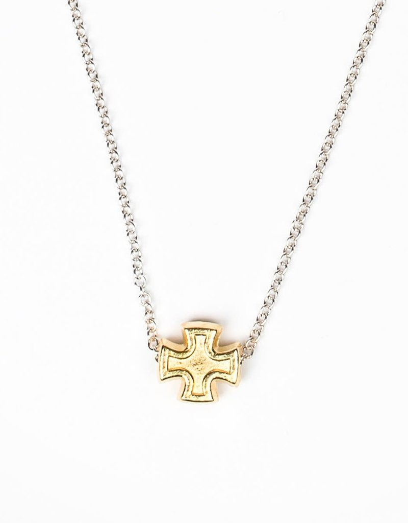 My Saint My Hero Faith Petite Necklace (Gold)