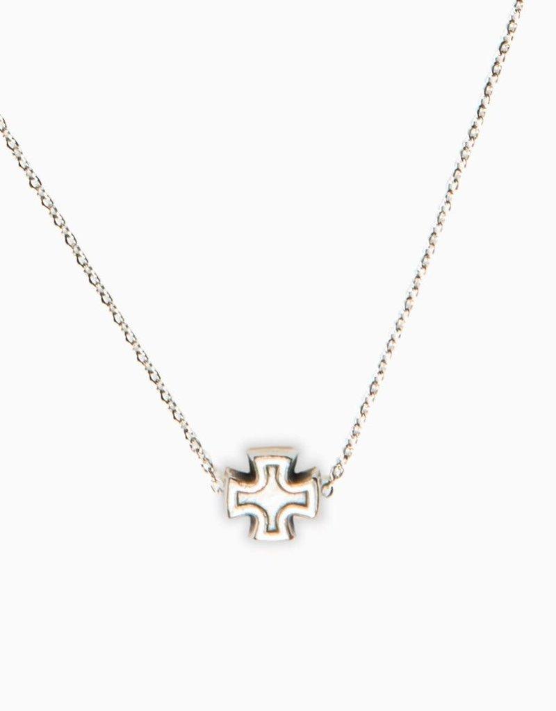 My Saint My Hero Faith Petite Necklace (Silver)