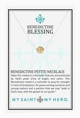 My Saint My Hero Benedictine Petite Necklace (Gold)