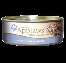 Ocean Fish In Broth 5.5oz