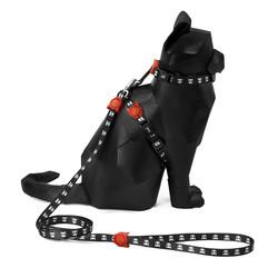 Skull Harness + Leash Set Zee.Cat