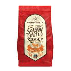 Beef Recipe Raw Coated Kibble