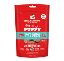Puppy \ Beef & Salmon Patties
