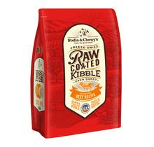 Beef Recipe Raw Coated Kibble