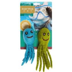 Wool Felt - Octopus Set of 2