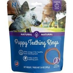 Puppy Teething Rings Pumpkin Flavour 3.6oz 3pk